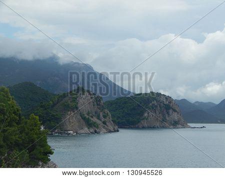 Tourism in Montenegro on the Adriatic Sea, Petrovac