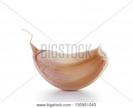 Garlic Cloves Isolated On White Background
