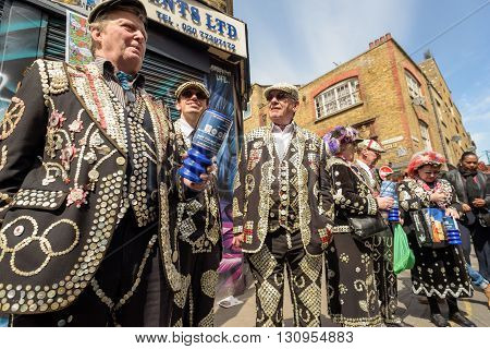 Pearly Kings And Queens From London