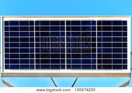 Solar panel - renewable and alternative energy, sun energy.