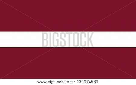 Latvia flag image for any design in simple style
