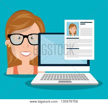 find person design, vector illustration eps10 graphic