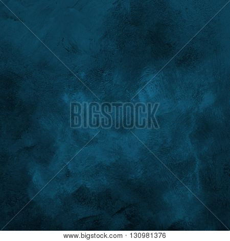 Dark Blue Grunge Paint Strokes Background