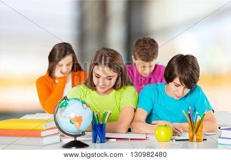 Classroom student.