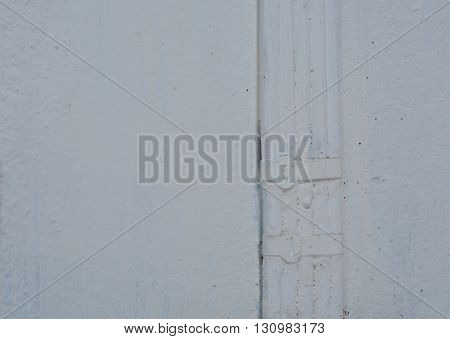 electric wire painting white color on wall