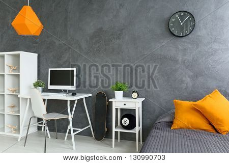 Study Corner In Bedroom