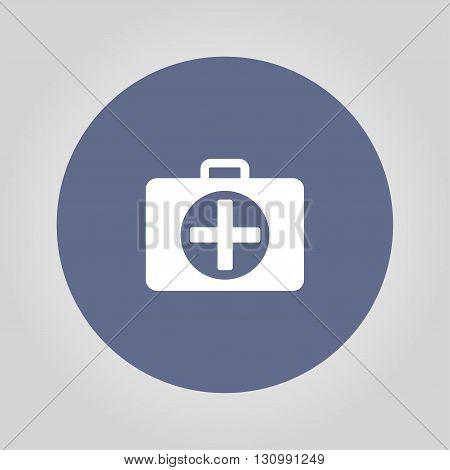 ambulanse icon - Vector icon. Flat design style eps 10