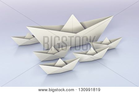 Origami, Paper Boats