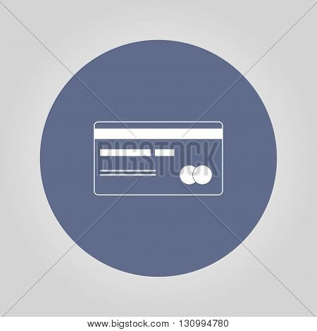 credit card icon. Illustration vector EPS 10