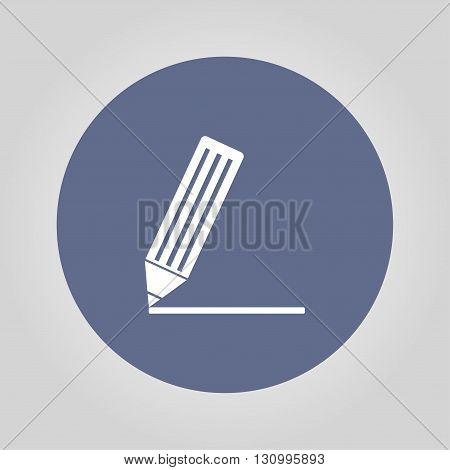 icon of notes. Flat design style eps 10
