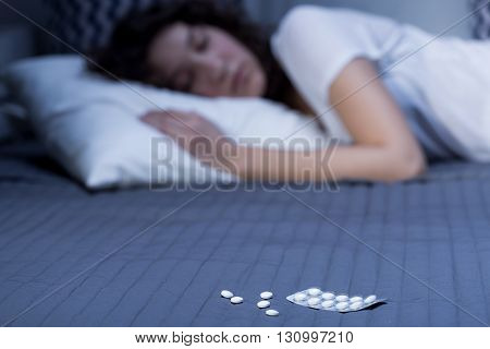 Nighttime Rest Possible Only With Sleeping Pills