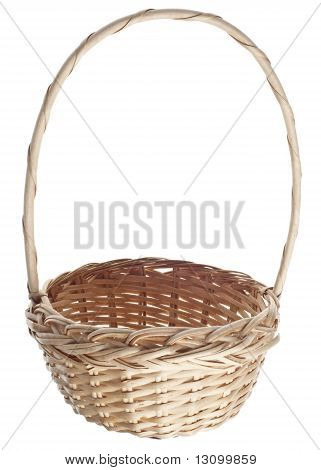 Empty Easter Basket