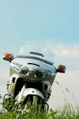 Постер, плакат: Мотоцикл Хонда