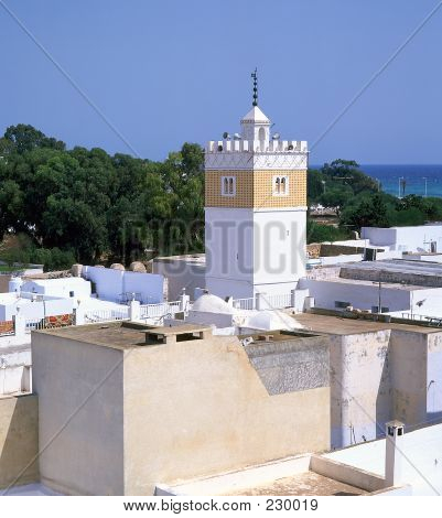 Moslem Minaret