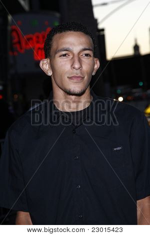 LOS ANGELES, CA - AUGUST 30: Khleo Thomas at the FX's 'Sons Of Anarchy' season 4 premiere at the ArcLight Cinemas Cinerama Dome on August 30, 2011 in Los Angeles, California