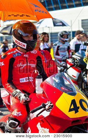 Roman Ramos Pilot Of Moto2  Of The Cev Championship
