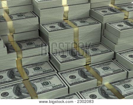 Dinheiro de fundo