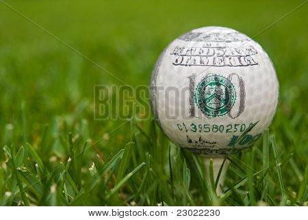 hundred dollar golf ball