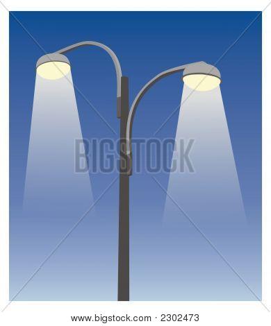 Two Lamppost Iii