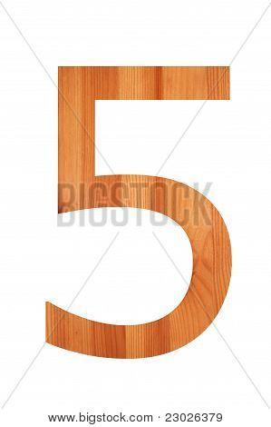 Wood Alphabet 5