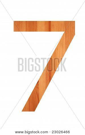 Wood Alphabet  7