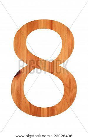 Wood Alphabet 8