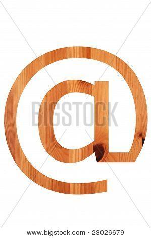 Wood Alphabet @