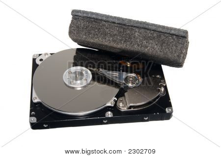 Erased Hard Drive