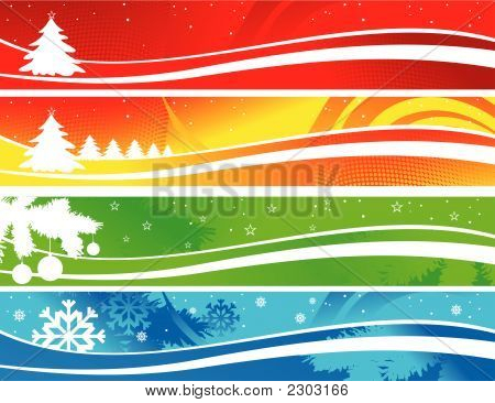 Weihnachten Banner.Eps