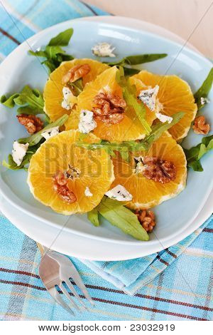 Fresh Salad With Oranges