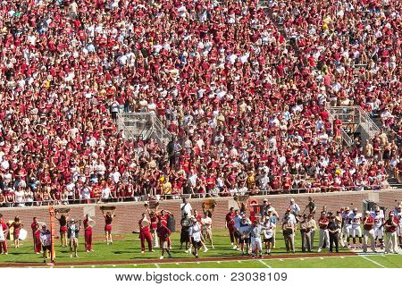 Florida State Football Sold Out Game