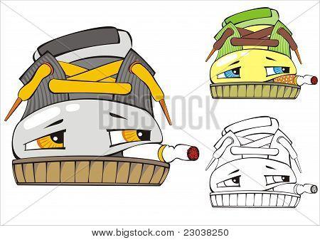 The Smoking Shoe.eps