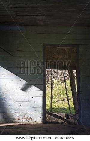 Doorway, Abandoned Building