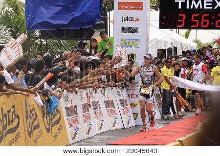 Ironman Philippines Winner Pete Jacobs