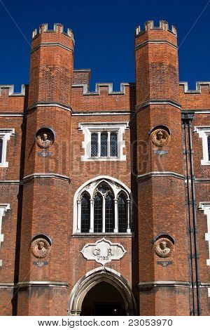 Entrance to the Hampton Court