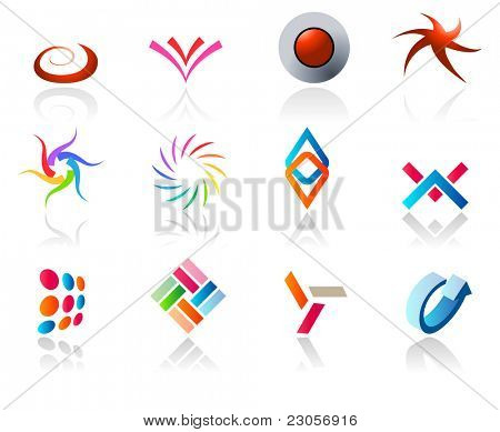 Set of different icons (part 9). Please see more in my portfolio.