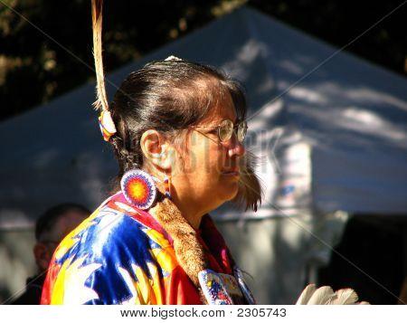 Plains Native American Woman