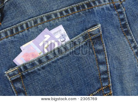 Ten In Jeans Pocket