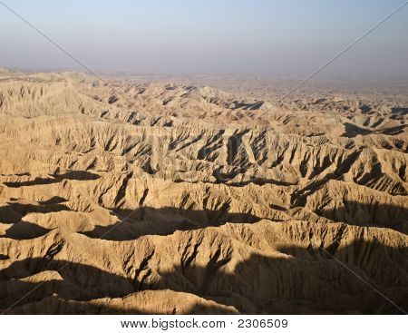 View Of Borrego Badlands