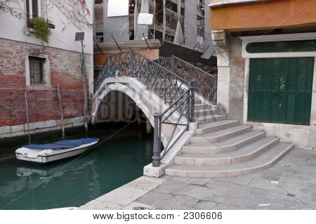 A Bridge Of Venice Italy