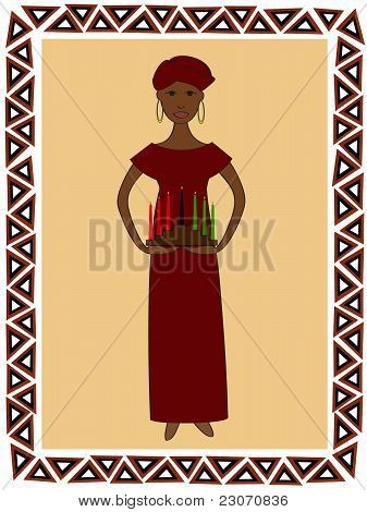 Kwanzaa Woman