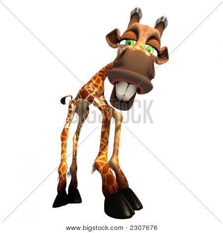 Gaffy The Giraffe