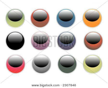 Glossy Internet Buttons