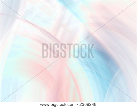 Fractal Abstract Background - Bright Pastels