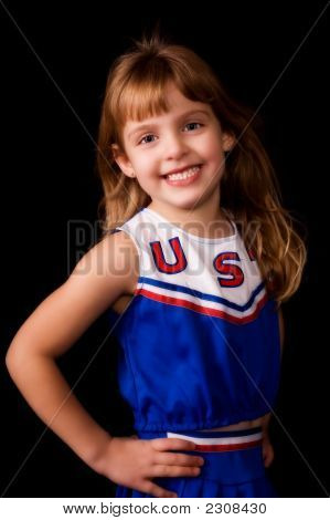 Elementary Cheerleader