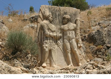 Antiochus Shaking the Hand of Hercules