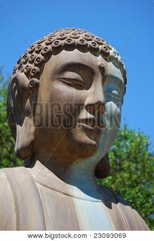 Buddah Statue Face