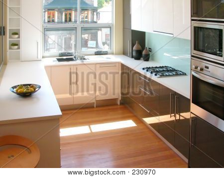 Modern Design, Brand New Kitchen