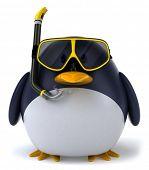 Постер, плакат: Пингвин