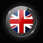 United Kingdom, England National Flag. Application Language Symbol. Country Of Manufacture Icon. Rou poster
